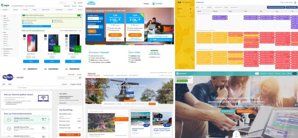Verschillende projecten van Marketing Makers in Utrecht
