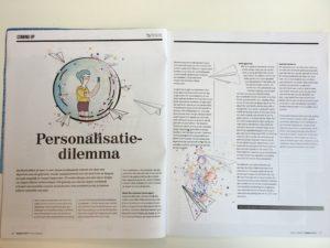 Personalisatie dilemma in tijdschrift Twinkle